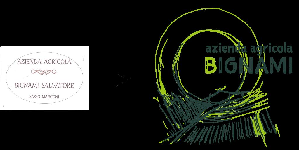azienda agricola bignami, logo cambio immagine aziendale